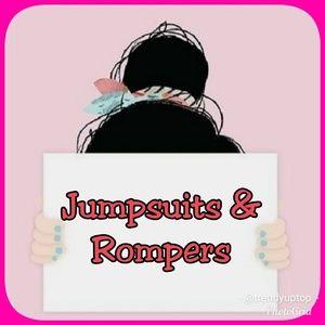 Pants - Jumpsuits & Rompers